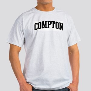 COMPTON (curve-black) Light T-Shirt