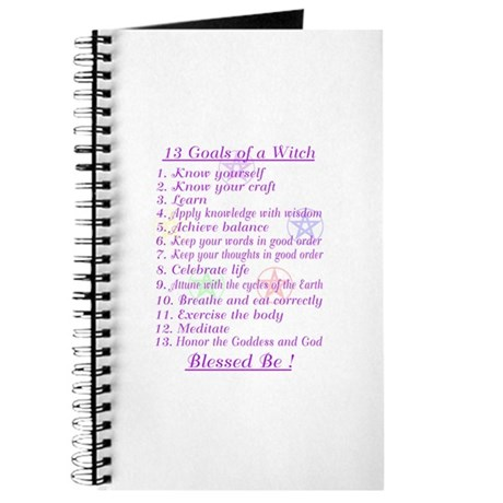 13 Goals of a Witch Journal