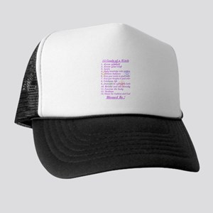 13 Goals of a Witch Trucker Hat