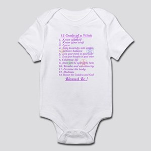 13 Goals of a Witch Infant Bodysuit