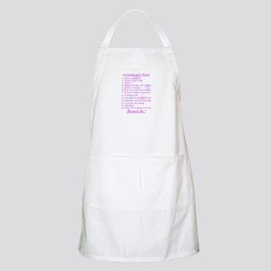 13 Goals of a Witch BBQ Apron