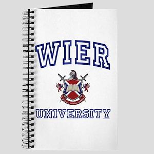 WIER University Journal