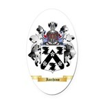 Iacchino Oval Car Magnet