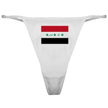 Iraq Flag Classic Thong