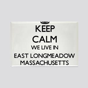 Keep calm we live in East Longmeadow Massa Magnets