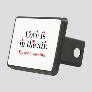 Love Is In The Air Rectangular Hitch Cover