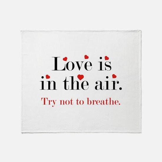 Love Is In The Air Stadium Blanket