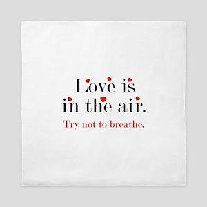 Love Is In The Air Queen Duvet