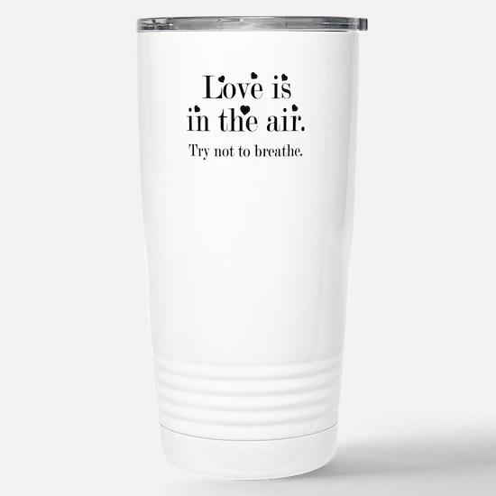Love Is In The Air Ceramic Travel Mug