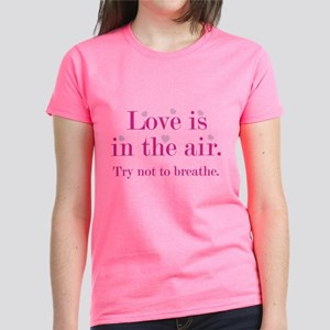 Love Is In The Air Women's Dark T-Shirt
