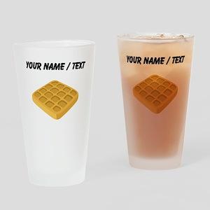 Custom Waffle Drinking Glass