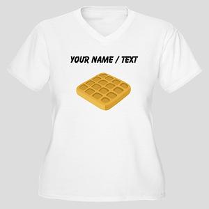 Custom Waffle Plus Size T-Shirt
