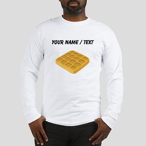 Custom Waffle Long Sleeve T-Shirt
