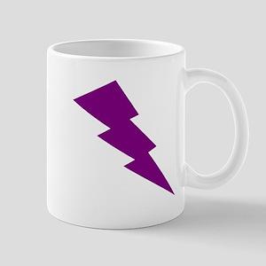 Purple Lightning Mugs