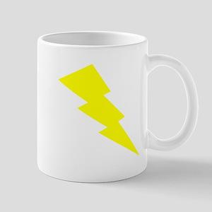 Yellow Lightning Mugs