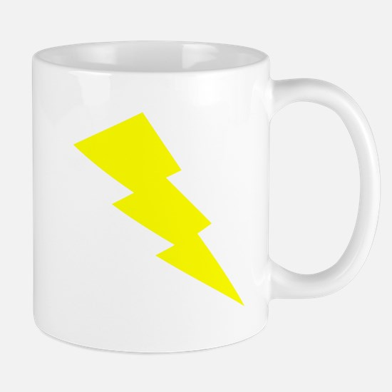 Yellow Lightning Mugs