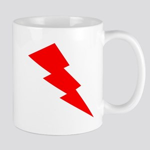 Red Lightning Mugs