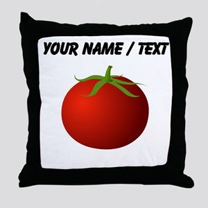 Custom Tomato Throw Pillow