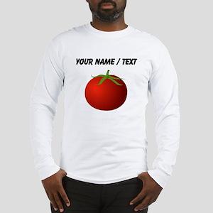 Custom Tomato Long Sleeve T-Shirt
