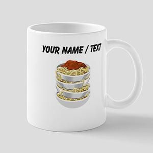 Custom Bowls Of Pasta Mugs