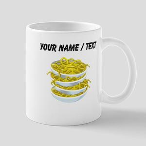 Custom Bowls Of Noodles Mugs