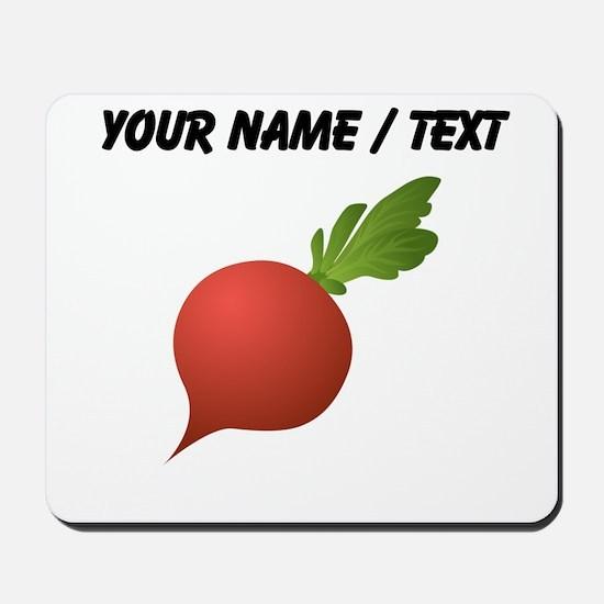 Custom Radish Mousepad