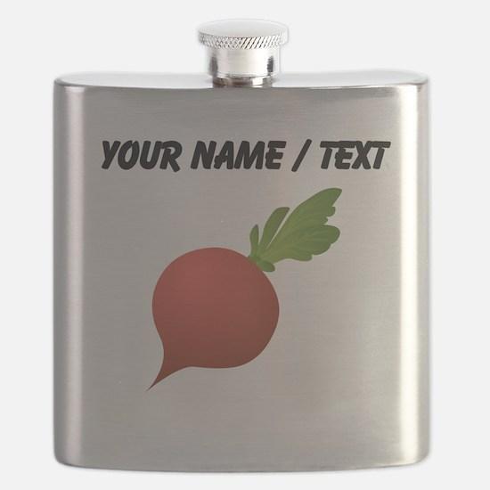 Custom Radish Flask