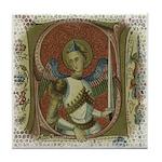 Gothic Angel Art Tile - Coaster