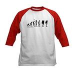 Astronaut Evolution Kids Baseball Jersey