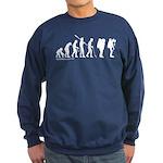 Astronaut Evolution Sweatshirt (dark)
