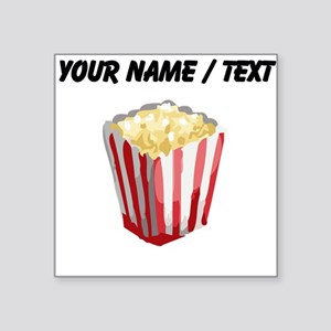 Custom Popcorn Sticker
