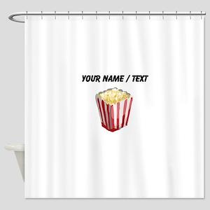 Custom Popcorn Shower Curtain