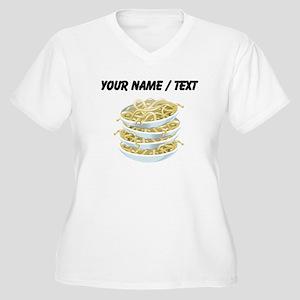 Custom Bowls Of Noodles Plus Size T-Shirt