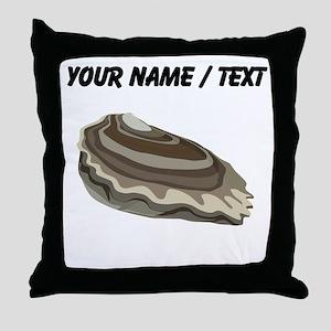 Custom Oyster Throw Pillow