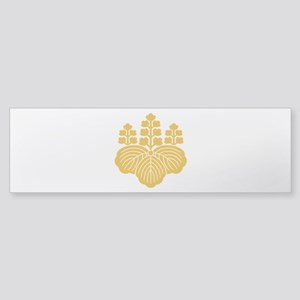 Paulownia with 5-7 blooms Bumper Sticker