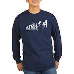 Climb Evolution Long Sleeve Dark T-Shirt