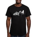 Climb Evolution Men's Fitted T-Shirt (dark)