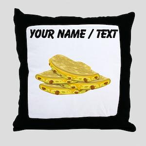 Custom Tacos Throw Pillow