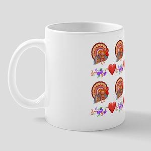 Festive Thanksgiving Mug