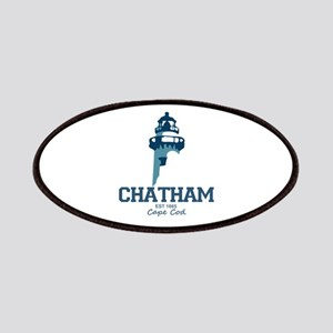 Chatham. Cape Cod. Lighthouse Design. Patches