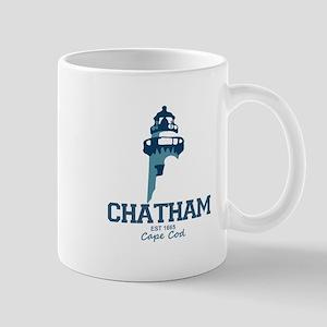 Chatham. Cape Cod. Lighthouse Design. Mug