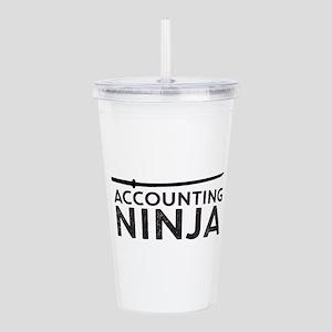 Accounting Ninja Acrylic Double-wall Tumbler