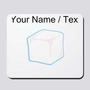 Custom Ice Cube Mousepad