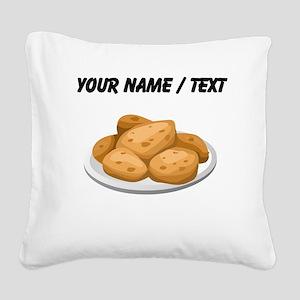 Custom Hot Potatoes Square Canvas Pillow