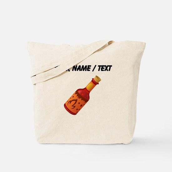 Custom Hot Sauce Tote Bag