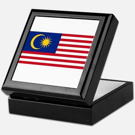 Malaysia Flag Keepsake Box