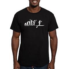 Sup Evolution Men's Fitted T-Shirt (dark)
