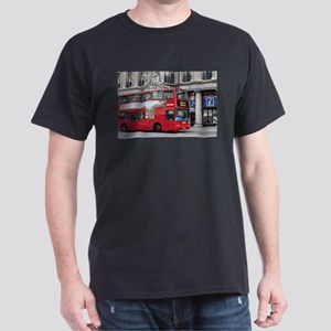 Red London Double Decker Bus, England T-Shirt
