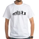 Cricket Evolution White T-Shirt