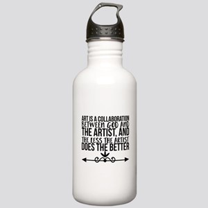 Art is a collaboration Stainless Water Bottle 1.0L